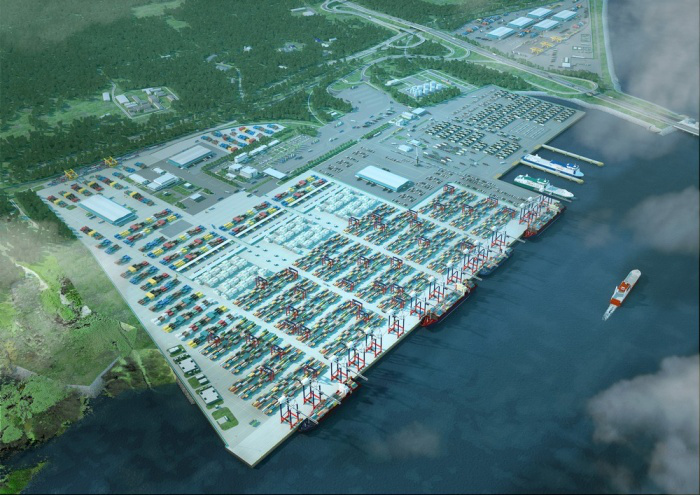 St Petersburg's new port aims to be top Russian cargo hub