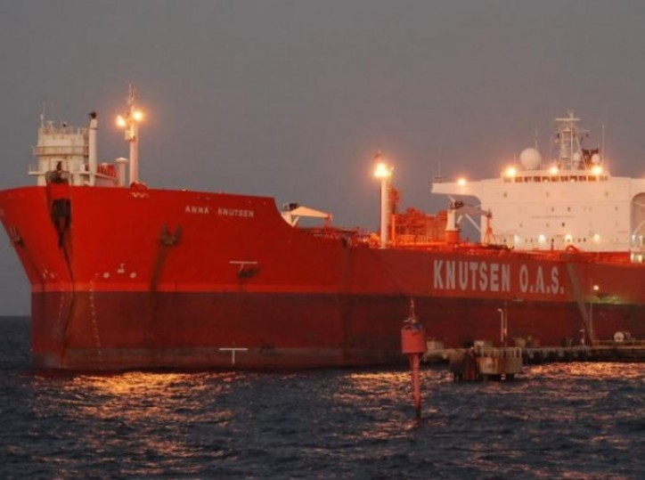 KNOT Offshore Partners LP announces completion of the acquisition of shuttle tanker Anna Knutsen