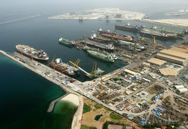 New Drydocks World record with 37 projects in the yard