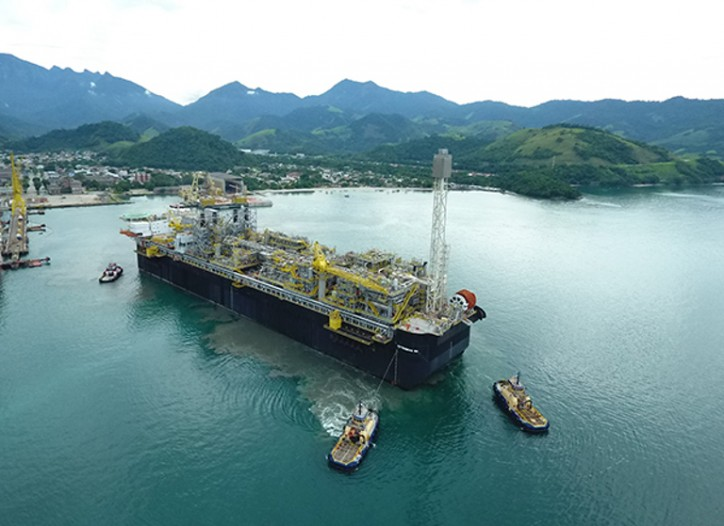 Keppel delivers FPSO P-66 for Brazil