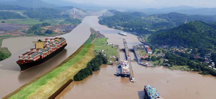 Expanded Panama Canal first lock set for filling with water