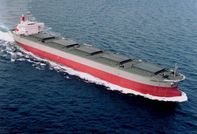 K Line takes delivery of new coal carrier - Corona Utility