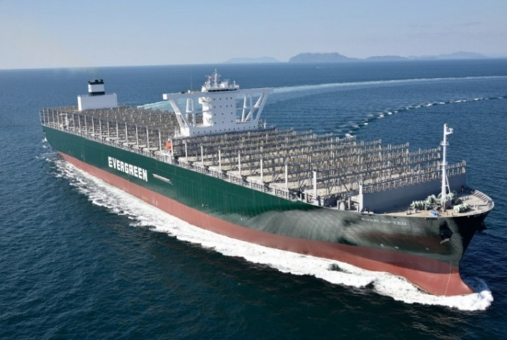 Evergreen Line Adds Two Mega-Ships To Its Fleet