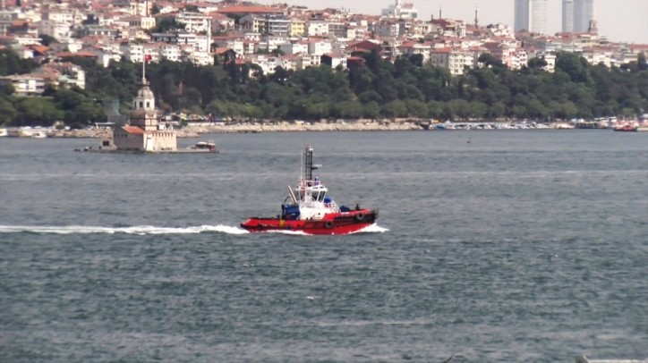 Med Marine tugboat joins the company's harbour fleet in Turkey's Izmit Bay