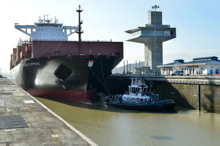 Panama Canal Welcomes Largest Vessel To-Date Through New Locks
