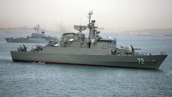 Iran's Naval Drill Begins East of Hormuz Strait