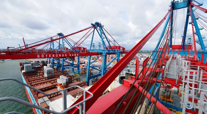 Record-low volume figures continue at the Port of Gothenburg container terminal