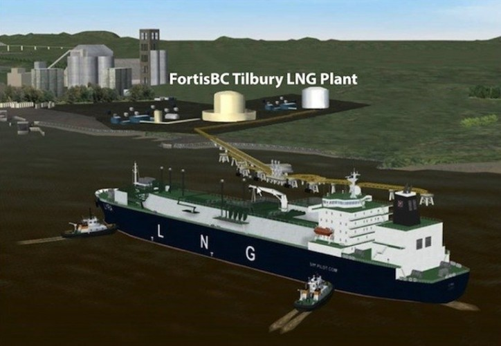 First shipment of LNG from Canada to China launches from B.C.