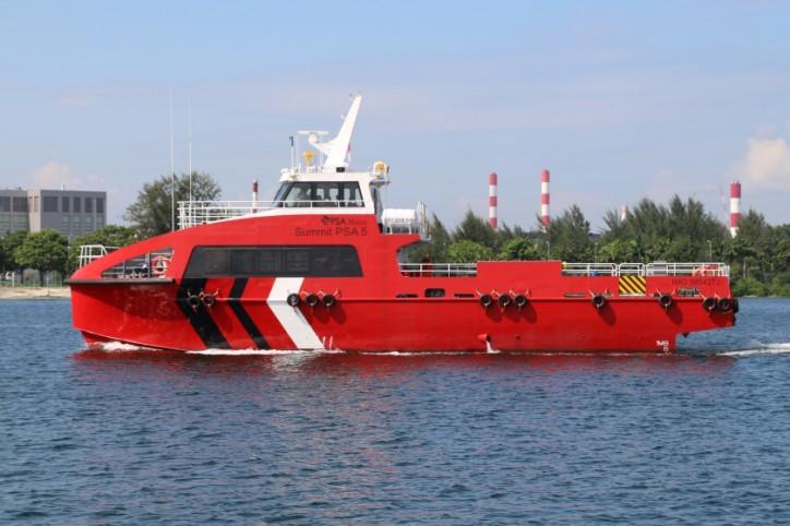 Lita Ocean Delivers Incat Crowther-Designed 25m Crewboat