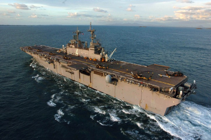 US, ROK Navy kick off exercise Ssang Yong 16