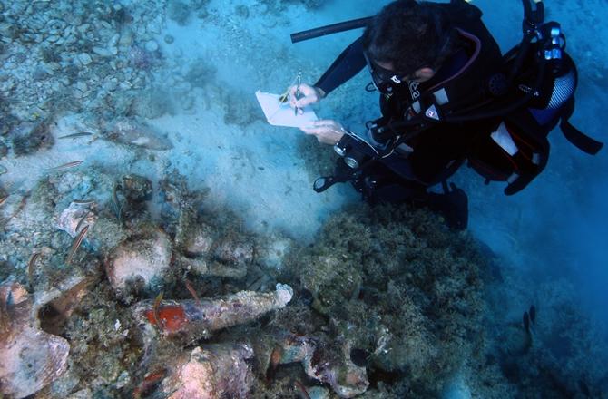 22 Shipwrecks found in single location in Greece