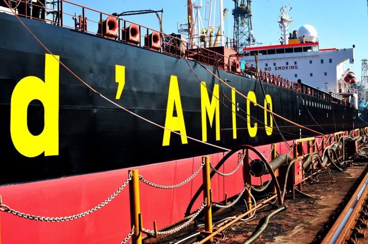 d'Amico announces the sale and leaseback of one of its MR vessels