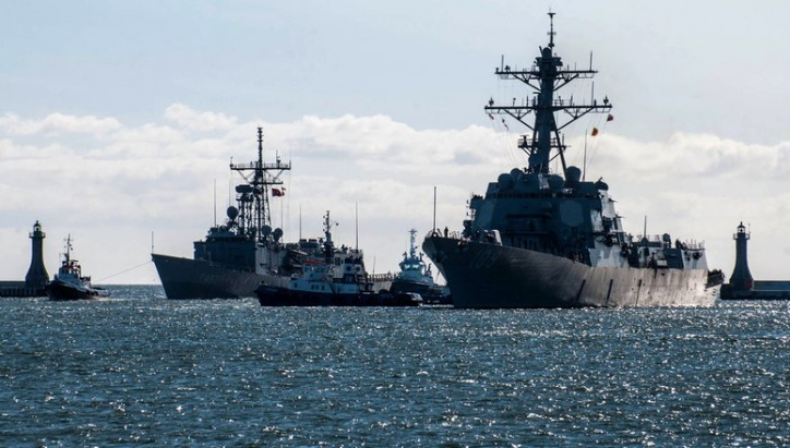 NATO Begins Naval Exercises in Baltic Sea