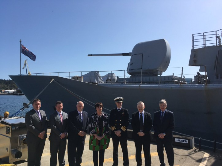 Seaspan Shipyards Celebrates Handover of HMNZS Te Kaha