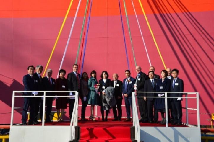 Newbuilding Methanol Carrier for Proman Shipping Named CASTARA