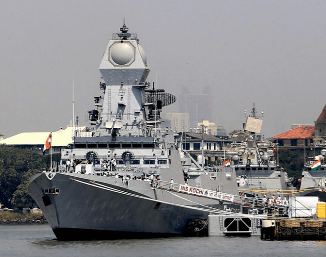 INS Kochi - the largest India-made warship, commissioned