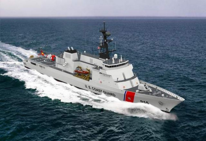 Eastern Shipbuilding Group Selected To Build United States Coast Guard Offshore Patrol Cutters