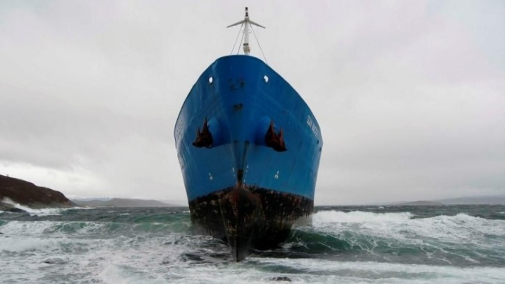 Scan Master aground in Norway