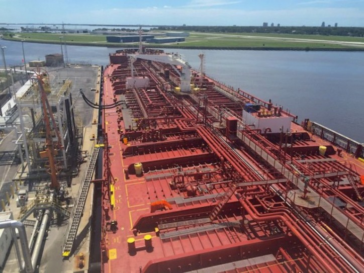 Crowley Jones Act Vessels Loaded with Fuel for Hurricane Stricken Locales - Over 135 Million Gallons Ready for Discharge