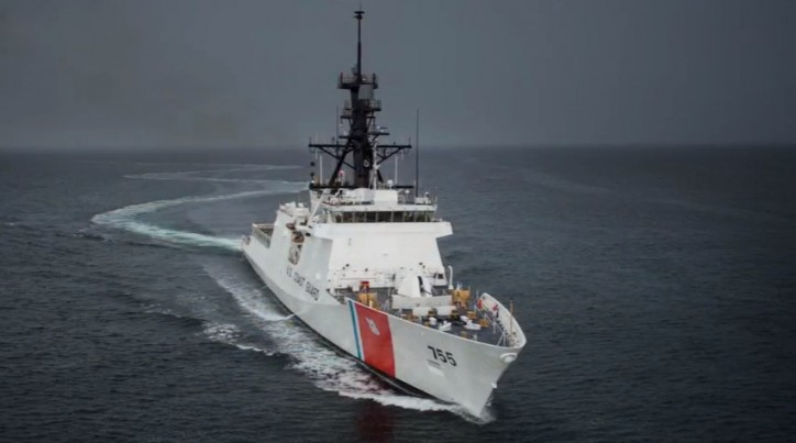Ingalls Shipbuilding Completes Builder's Sea Trials For National Security Cutter Munro (Video)