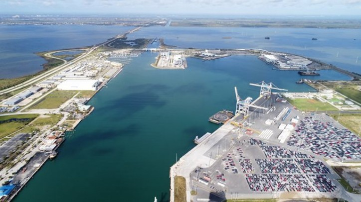 Port Canaveral Completes Basin and Container Berth Deepening Project