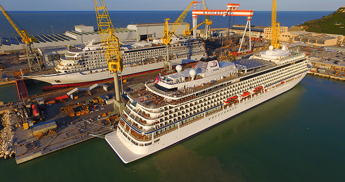 Fincantieri delivers cruise ship Viking Sky