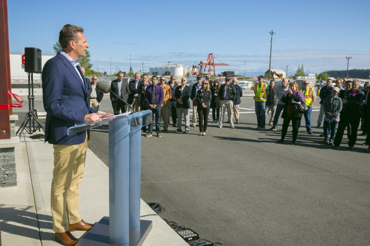 Seaspan Ferries celebrates official grand opening of new Duke Point Terminal
