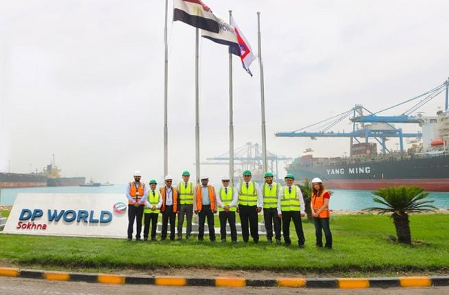 DP World Sokhna Welcomes Inaugural Vessel of New Shipping Alliance