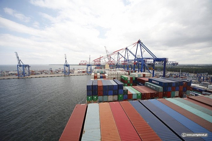 Record transshipment results for the Port of Gdansk