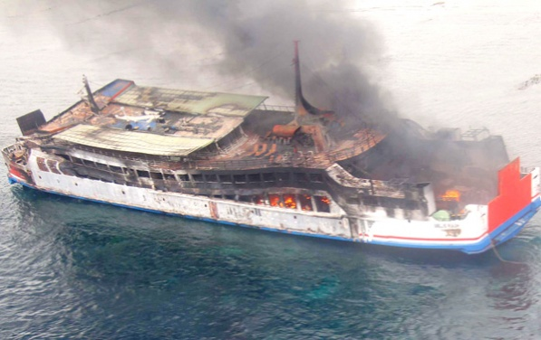 Ferry Gelis Rauh burns out