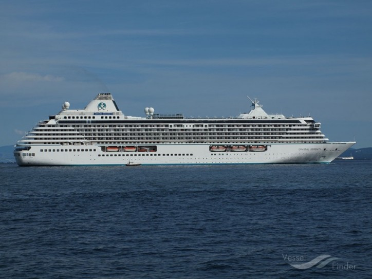 Port Everglades Welcomes Back Crystal Serenity