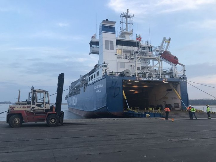 Norwegian shipping line Sea-Cargo starts service between Swinoujscie, Esbjerg and West Coast of Norway