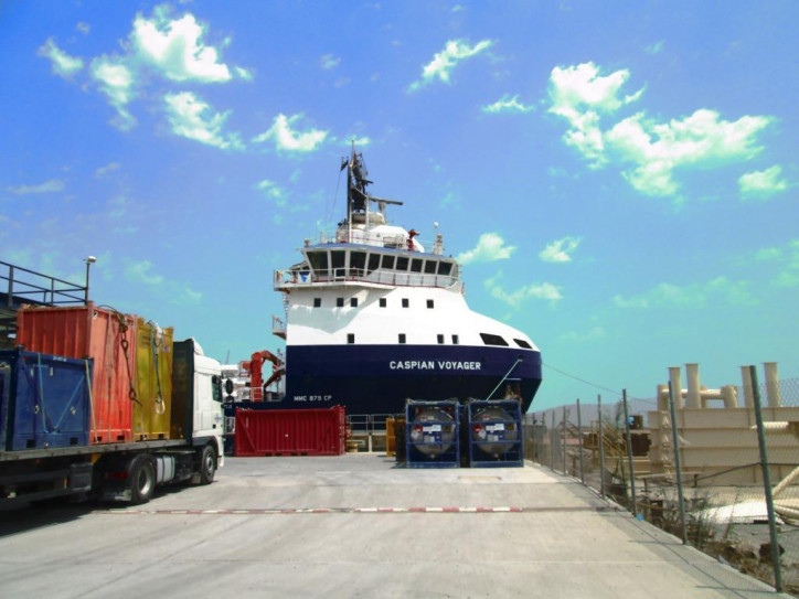 Topaz's Caspian Voyager Enters Extended Dry-Docking Scheme with ABS
