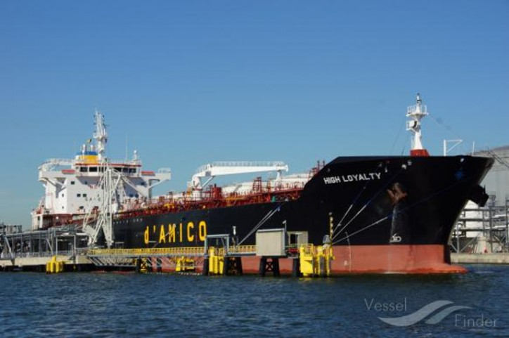 d'Amico International Shipping announces the sale and lease back of one of its MR vessels
