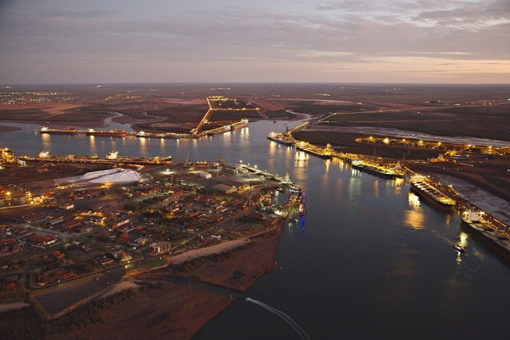 Pilbara Ports: Record Tonnage On A Single Tide