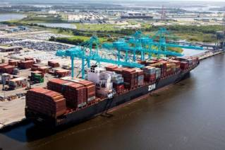 Federal government awards JAXPORT additional $93 million for harbor deepening