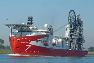 Isle of Man Ship Registry Flags Subsea 7's newest reel-lay ship Seven Vega