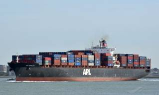 APL England released by AMSA sails to China