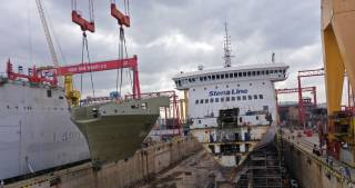 Stena RoRo enlarging and modernizing RoPax vessels Stena Lagan and Stena Mersey with 36-meter extensions