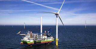 """DEME Offshore prepares for next-generation turbines with major crane upgrade for """"Sea Installer"""""""