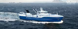 VARD secures contract for the design and construction of one advanced stern trawler for Luntos