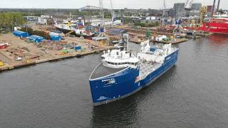 Damen Shiprepair Amsterdam completes a conversion project for Eidsvaag (Video)