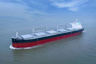 Kawasaki Heavy Industries delivers bulk carrier Green Genie