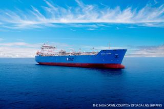 Saga Dawn - Innovative ABS-Classed LNG Carrier Delivered