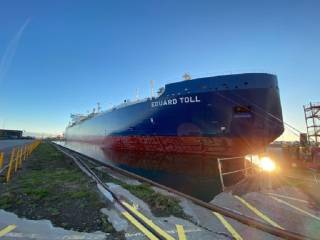 Spotted: Eduard Toll Drydock at Fayard Shipyard, Denmark