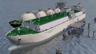 Mitsui O.S.K. Lines and LNG Terminal Wilhelmshaven sign a contract to build and charter an LNG terminal ship