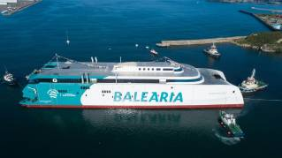 Baleària launches LNG-fueled ferry Eleanor Roosevelt