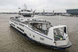 BC Ferries' third Island Class ferry departs shipyard bound for B.C.