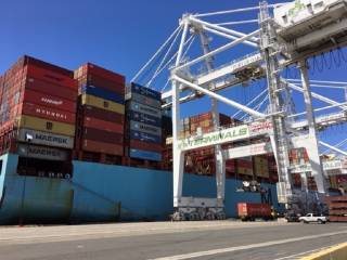 Port of Oakland reports record cargo surge in March