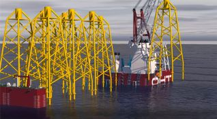 OHT to transport and install foundations at Dogger Bank Wind Farms